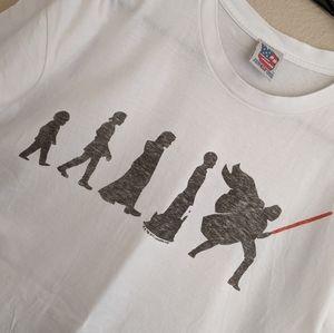 Men's Junk Food Star wars t-shirt